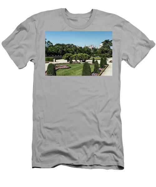Colorfull El Retiro Park Men's T-Shirt (Athletic Fit)
