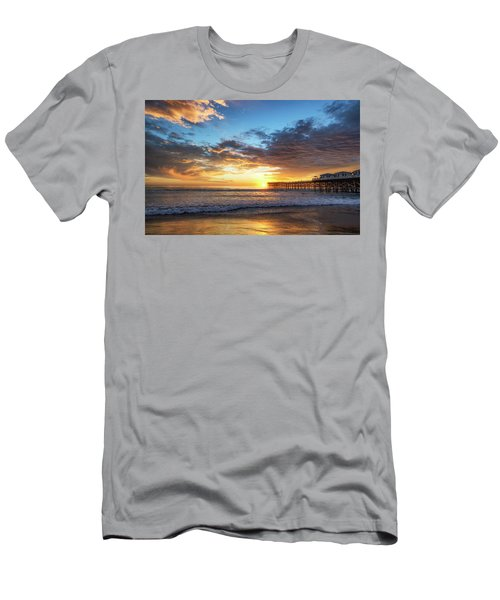 A Crystal Sunset Men's T-Shirt (Slim Fit) by Joseph S Giacalone