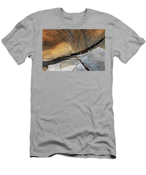 Men's T-Shirt (Slim Fit) featuring the photograph A Dead Tree by Dorin Adrian Berbier