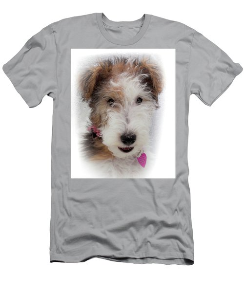Men's T-Shirt (Slim Fit) featuring the photograph A Dog Named Butterfly by Karen Wiles