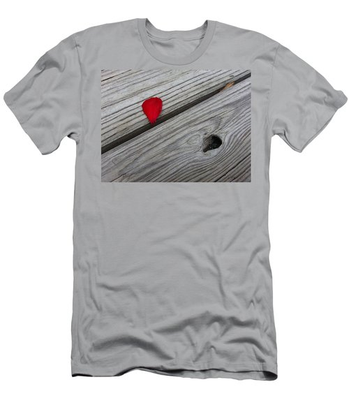 Men's T-Shirt (Athletic Fit) featuring the photograph A Drop Of Color by Robert Knight