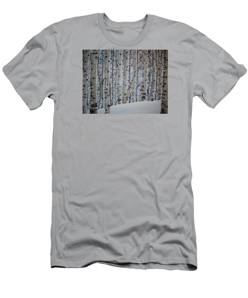 A Grove Of Aspens Men's T-Shirt (Athletic Fit)