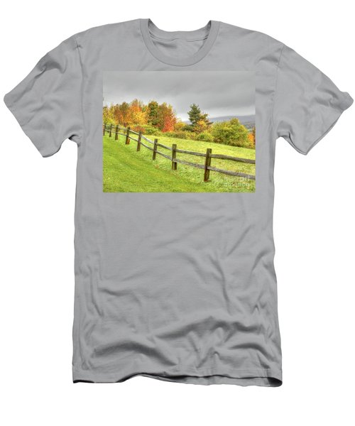A Highland Forest Autumn Men's T-Shirt (Athletic Fit)