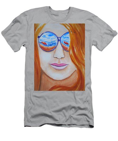 A La Plage Men's T-Shirt (Athletic Fit)