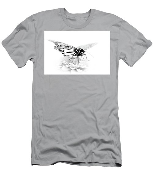 A Light Touch - Butterfly Men's T-Shirt (Slim Fit) by Nikolyn McDonald