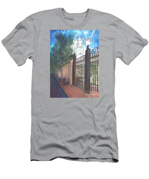 A Light Unto The World Men's T-Shirt (Athletic Fit)
