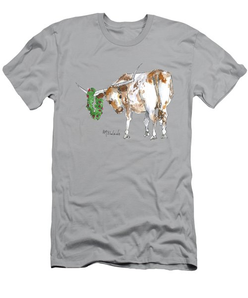 A Longhorn Christmas Leader, Come On In Men's T-Shirt (Athletic Fit)