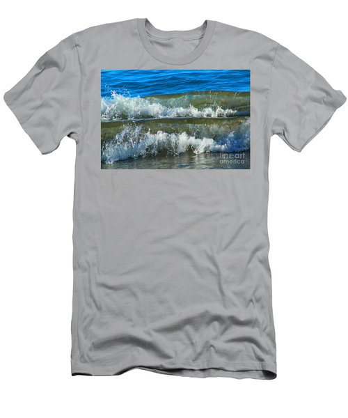 A Race For Non-existence, Point Reyes National Seashore, Marin C Men's T-Shirt (Slim Fit) by Wernher Krutein