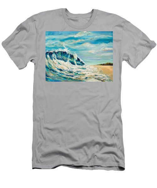 A Sandpiper's View Men's T-Shirt (Athletic Fit)