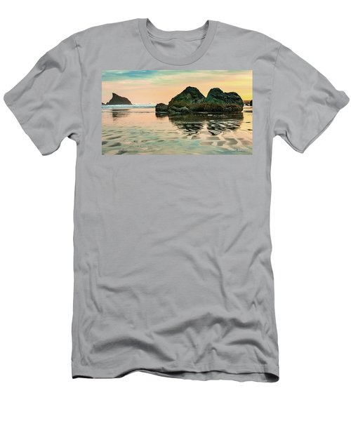 A Scene From The Beach Men's T-Shirt (Athletic Fit)