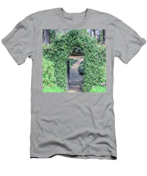 A Secret Doorway Men's T-Shirt (Athletic Fit)