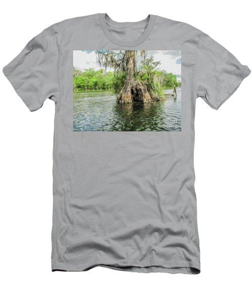 A Secret Hiding Place Men's T-Shirt (Athletic Fit)