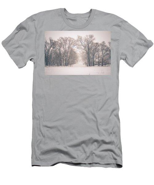 A Snowy Monday Men's T-Shirt (Athletic Fit)