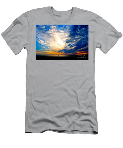 Men's T-Shirt (Slim Fit) featuring the photograph A Speck In The Universe by Margie Amberge