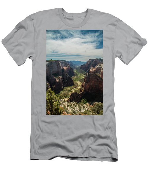 A Storm Is A' Brewing Men's T-Shirt (Athletic Fit)