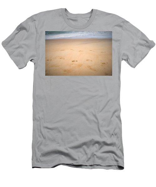 A Walk Along The Beach  Men's T-Shirt (Athletic Fit)