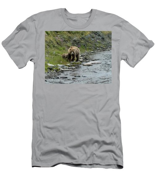 A Walk Along The Creek Men's T-Shirt (Athletic Fit)
