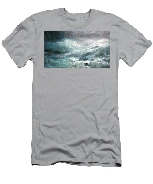 a wave my way by Jarko Men's T-Shirt (Athletic Fit)