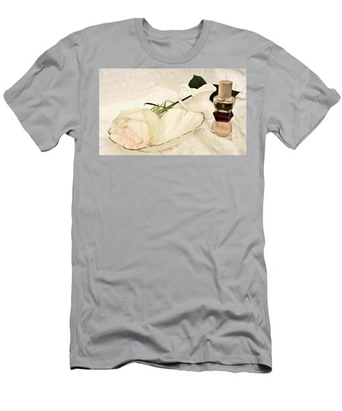 Men's T-Shirt (Slim Fit) featuring the photograph A Womans Touch by Marsha Heiken