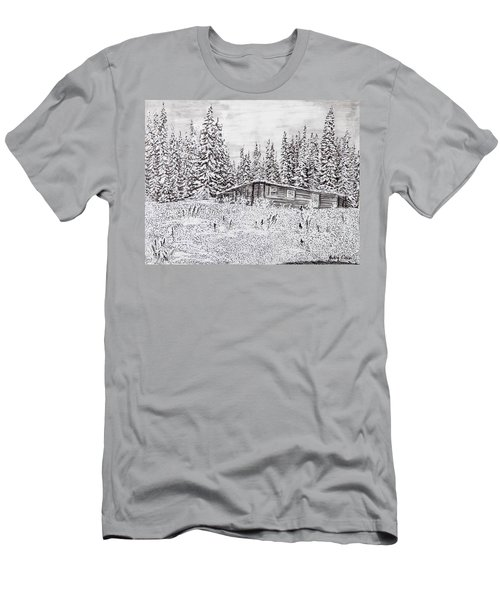 Abandoned Cabin Men's T-Shirt (Athletic Fit)