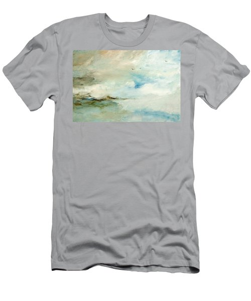 Above It All Men's T-Shirt (Slim Fit) by Dina Dargo