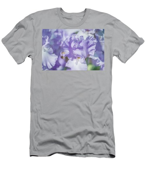 Absolute Treasure Closeup. The Beauty Of Irises Men's T-Shirt (Athletic Fit)