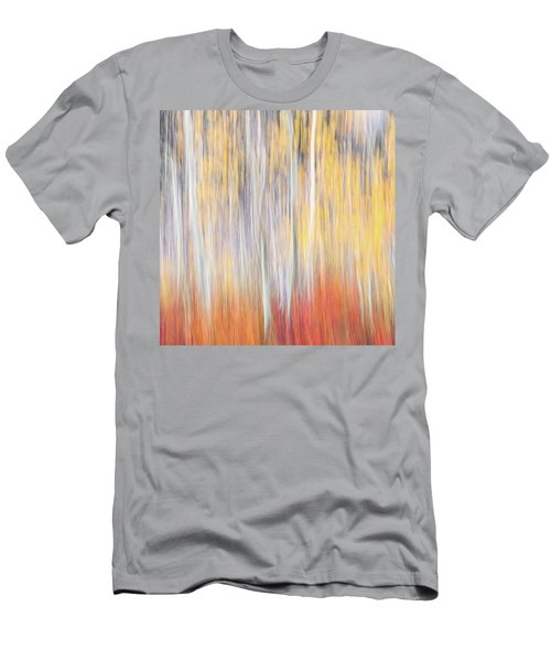 Abstract Autumn Men's T-Shirt (Athletic Fit)