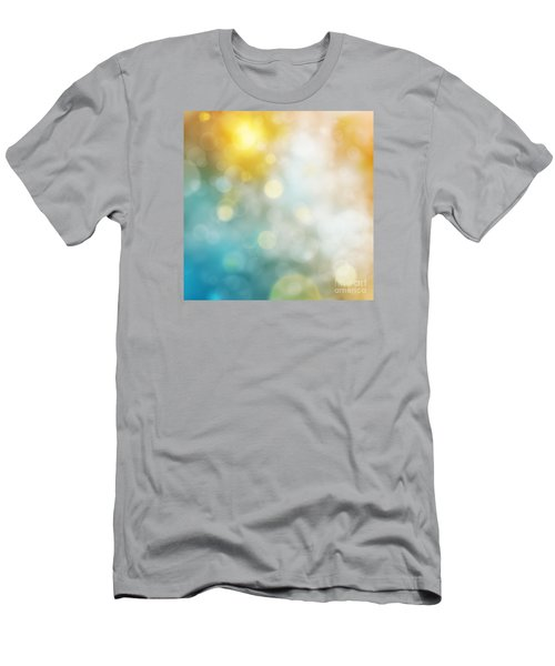 Abstract Bokeh Men's T-Shirt (Slim Fit) by Atiketta Sangasaeng