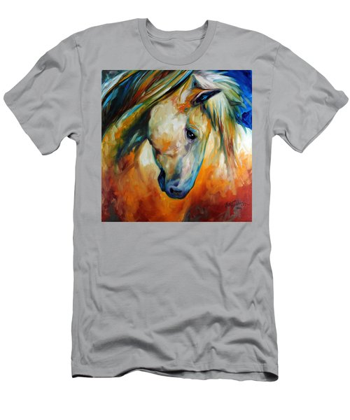 Abstract Equine Eccense Men's T-Shirt (Athletic Fit)