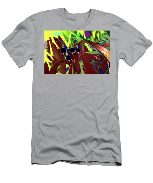 Abstract Flowers Of Light Series #10 Men's T-Shirt (Athletic Fit)