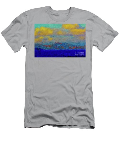 Abstract Landscape Expressions Men's T-Shirt (Athletic Fit)