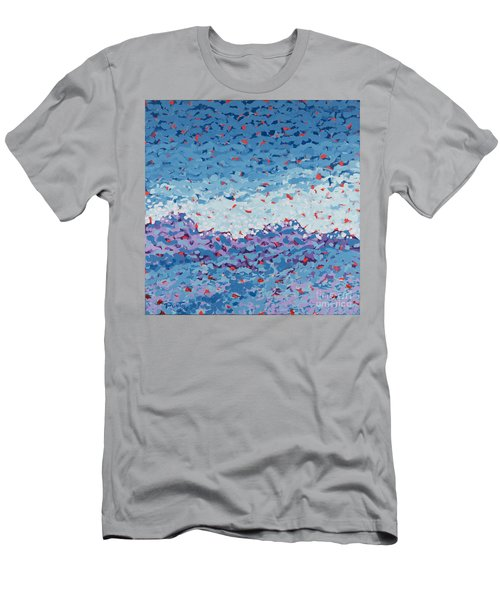 Abstract Landscape Painting 1 Men's T-Shirt (Athletic Fit)