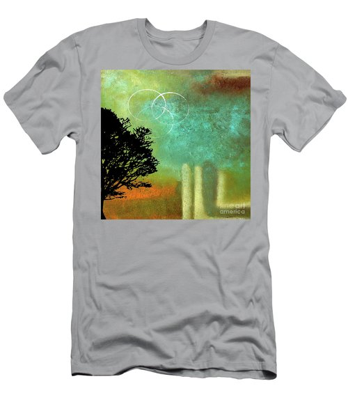 Abstract Modern Art Eternity Men's T-Shirt (Athletic Fit)