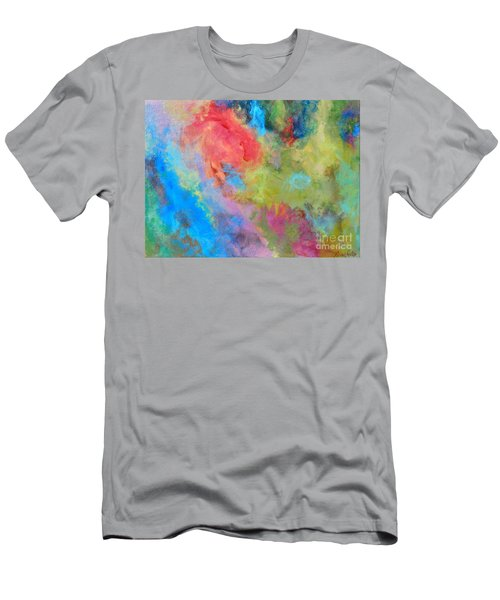 Abstract Men's T-Shirt (Slim Fit) by Reina Resto