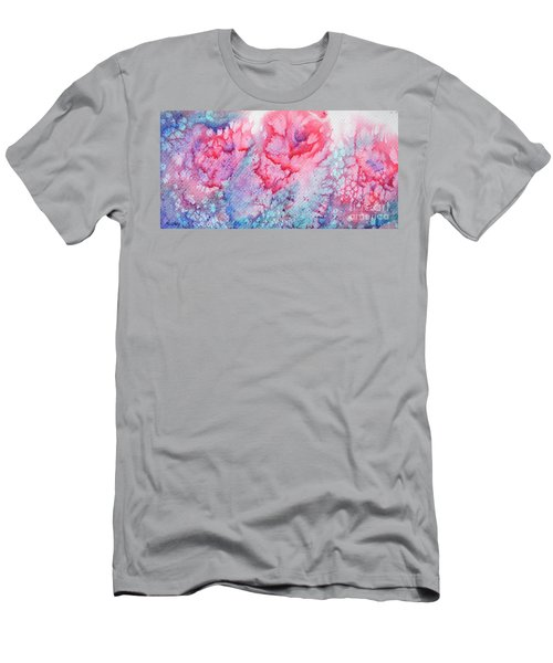 Abstract Roses Men's T-Shirt (Athletic Fit)