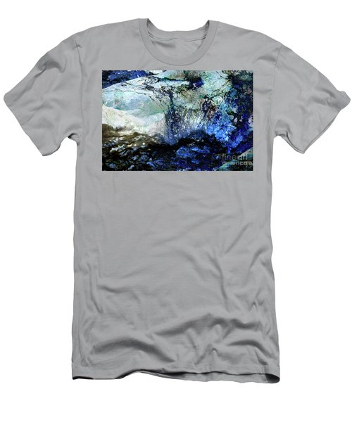 Abstract Runoff Men's T-Shirt (Athletic Fit)