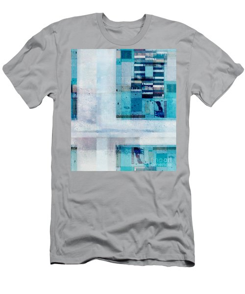 Men's T-Shirt (Slim Fit) featuring the digital art Abstractitude - C02v by Variance Collections