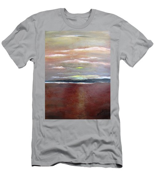 Across The Horizon Men's T-Shirt (Athletic Fit)