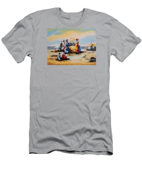 Acrylic Msc 191 Men's T-Shirt (Slim Fit) by Mario Sergio Calzi
