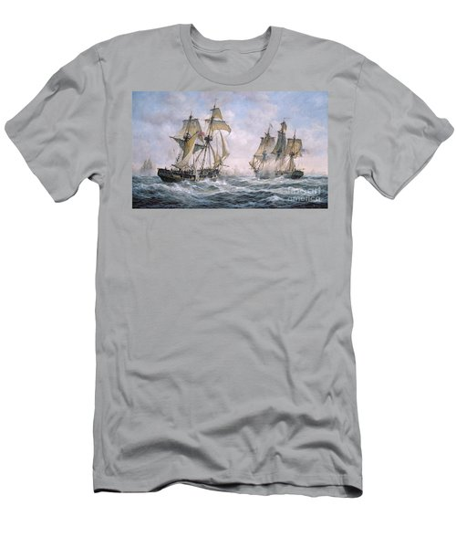 Action Between U.s. Sloop-of-war 'wasp' And H.m. Brig-of-war 'frolic' Men's T-Shirt (Athletic Fit)
