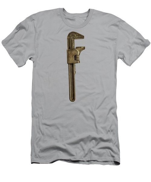 Adjustable Wrench Backside Men's T-Shirt (Athletic Fit)