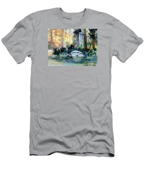 Admiralty Island Men's T-Shirt (Slim Fit) by Teresa Ascone