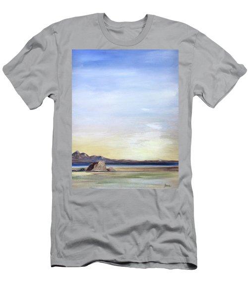 Adobe Rock Men's T-Shirt (Athletic Fit)