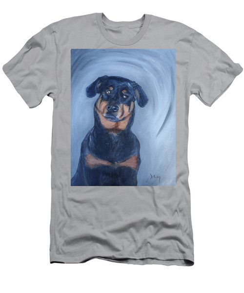 Men's T-Shirt (Slim Fit) featuring the painting Adrian by Donna Tuten