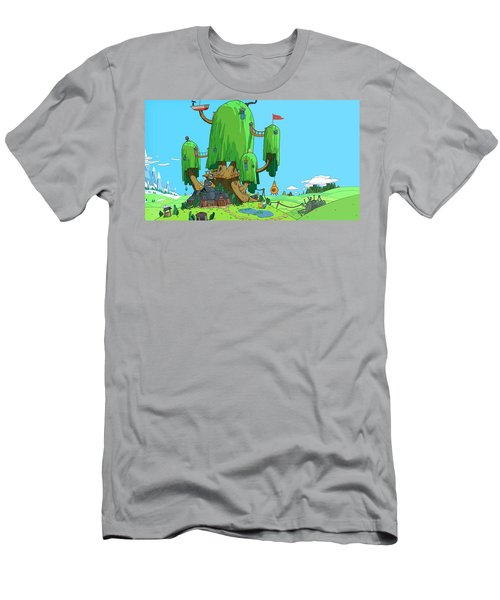Adventure Time Men's T-Shirt (Athletic Fit)