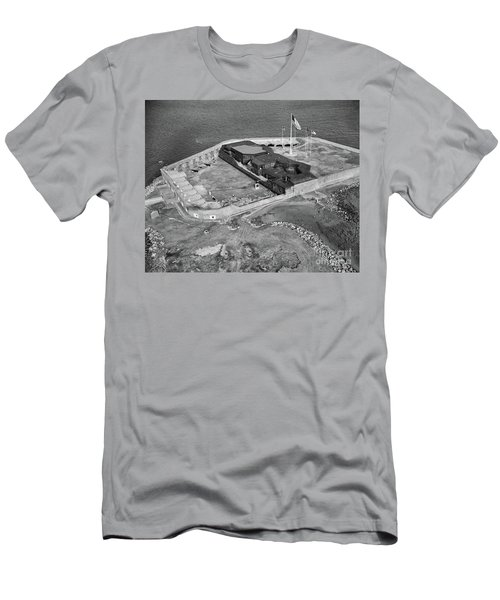 Aerial Of Fort Sumter Men's T-Shirt (Athletic Fit)