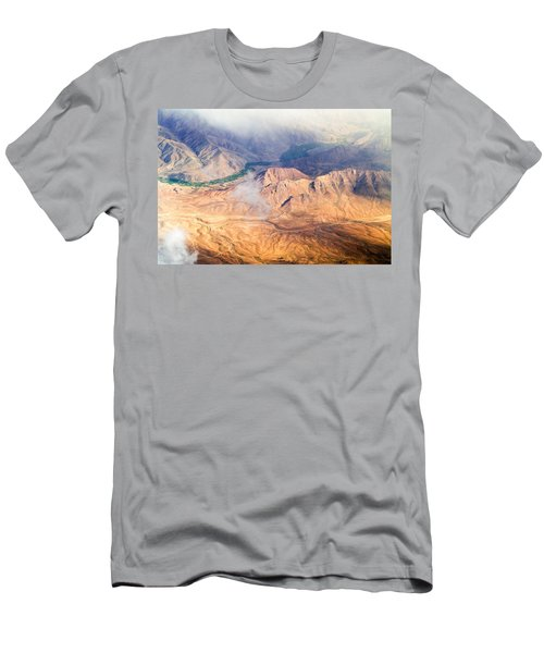 Afghan Valley At Sunrise Men's T-Shirt (Athletic Fit)