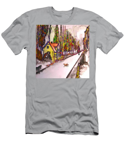 After The Showdown Men's T-Shirt (Slim Fit) by Mojo Mendiola