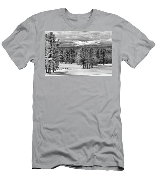 After The Snow  Men's T-Shirt (Athletic Fit)