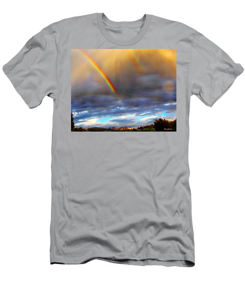 After The Storm El Valle New Mexico Men's T-Shirt (Athletic Fit)